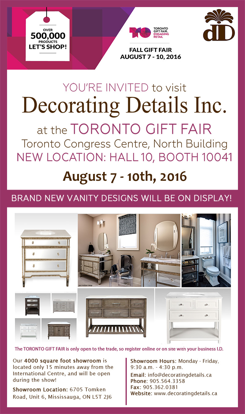 August 7 10 2016 Gift Show Invitation